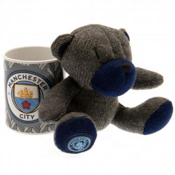 Manchester City Mug & Bear Gift Set